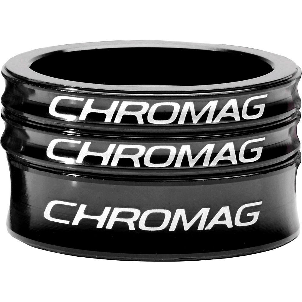 Chromag Headset Spacer Kit - Black - 1.1/8  Black