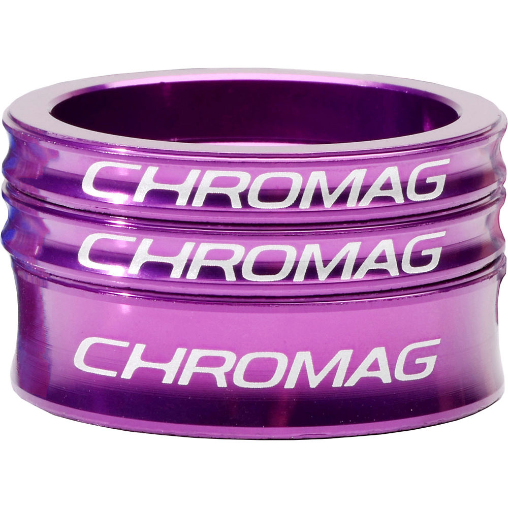 Chromag Headset Spacer Kit - Purple - 1.1/8  Purple