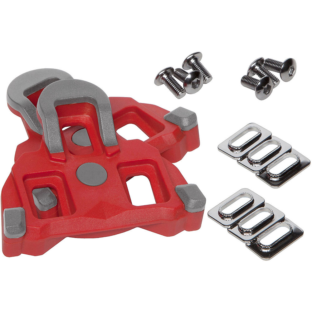 LifeLine Shimano SPD SL Road Cleats - Red, Red