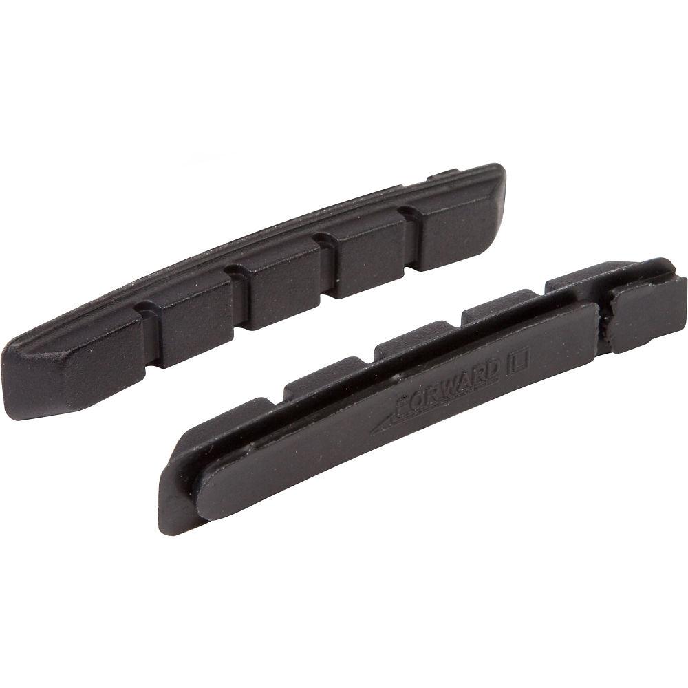 LifeLine Essential MTB V-Brake Inserts - Black - One Size - Pack Of 4, Black