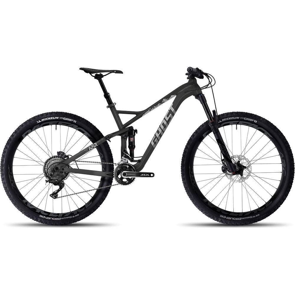Bicicleta de doble suspensión de aluminio Ghost SL AMR 5 2017
