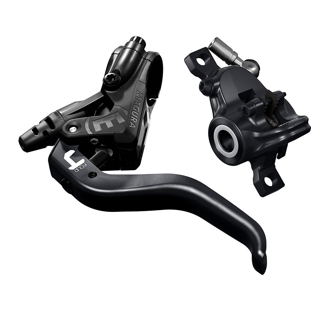 Magura MT4 MTB Disc Brake - Black - Left or Right Hand, Black