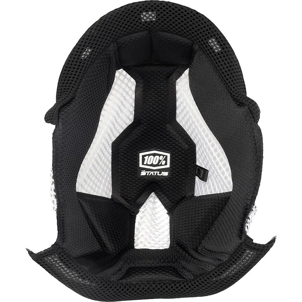 100% Status Youth Helmet Comfort Liner - Black - 10mm (YM), Black