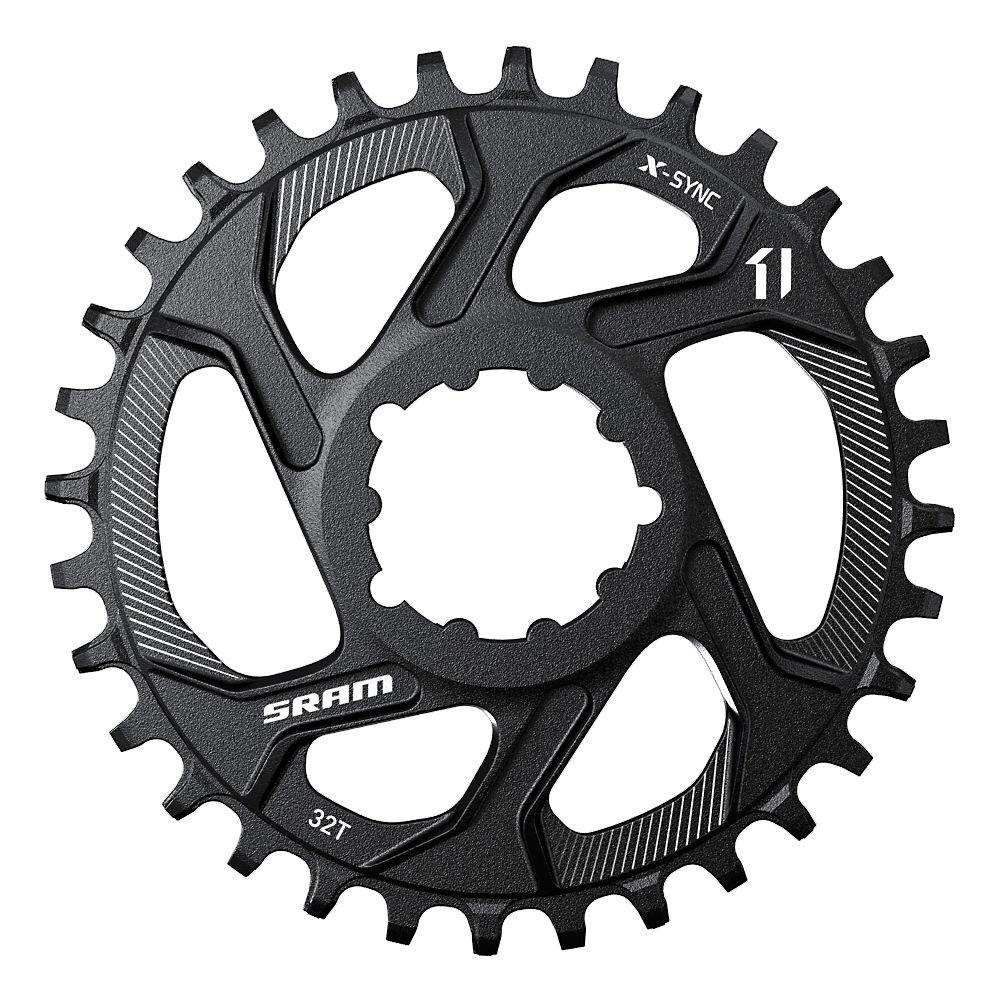 Sram X-sync Dm Chainring - Boost - Black - 32t  Black