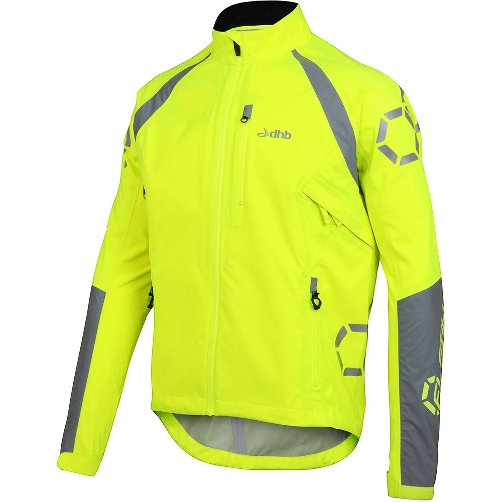 Chaqueta impermeable dhb Flashlight Force