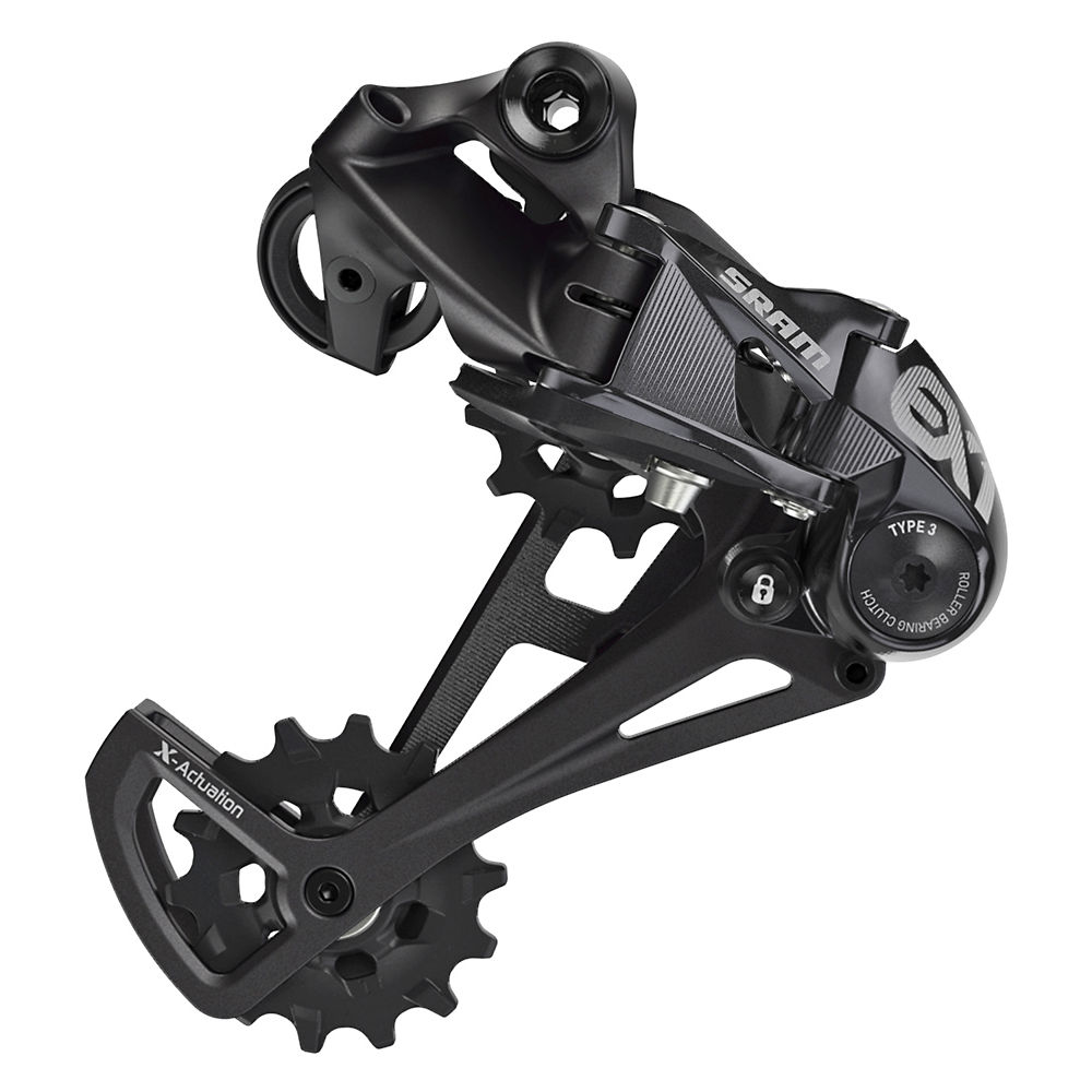 SRAM EX1 8sp Rear Derailleur – Black, Black