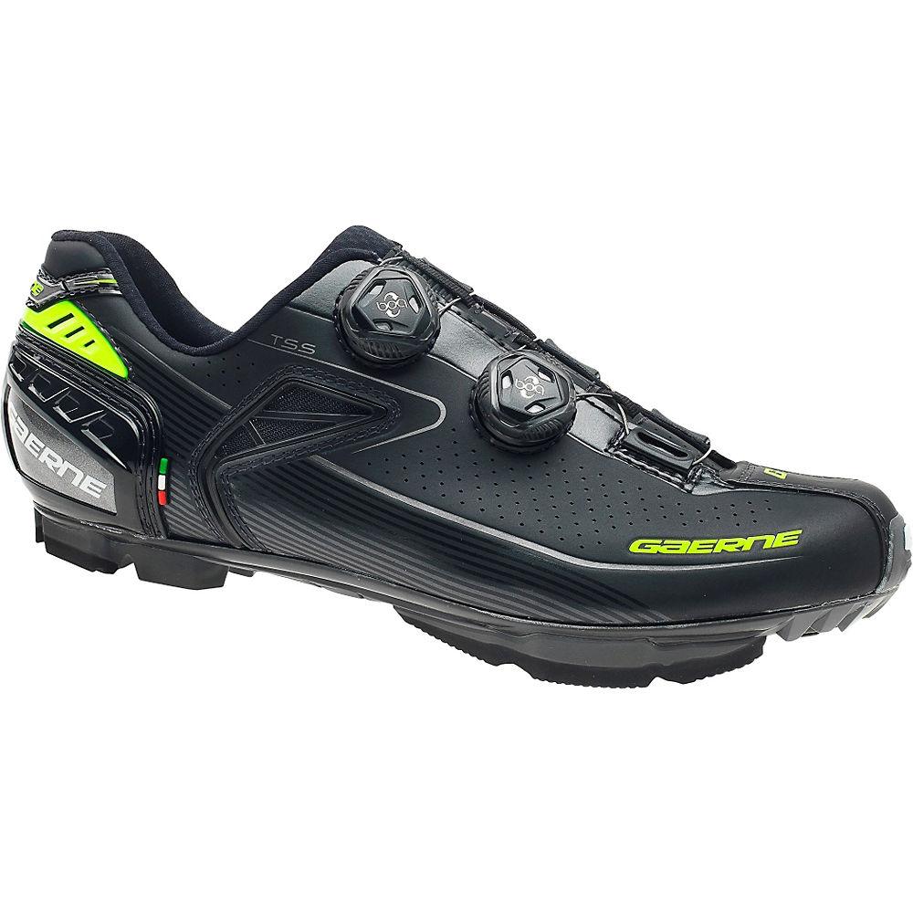 gaerne carbon kobra+ mtb spd shoes 2017 - eu 42.5 - black