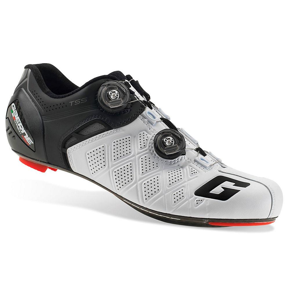 Image of Chaussures de route Gaerne Carbon Stilo+ SPD-SL 2018 - Blanc-Noir - EU 44
