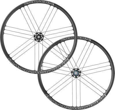 Juego de ruedas de carretera Campagnolo Zonda C17 (freno de disco) - Negro - QR Centre Lock, Negro