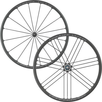 Juego de ruedas de carretera Campagnolo Shamal Mille C17 (para cubierta) - Negro - Shimano Freehub, Negro