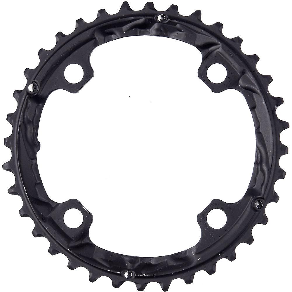 Shimano FC-T781 10 Speed Triple Chainrings - Black - Standard Type, Black