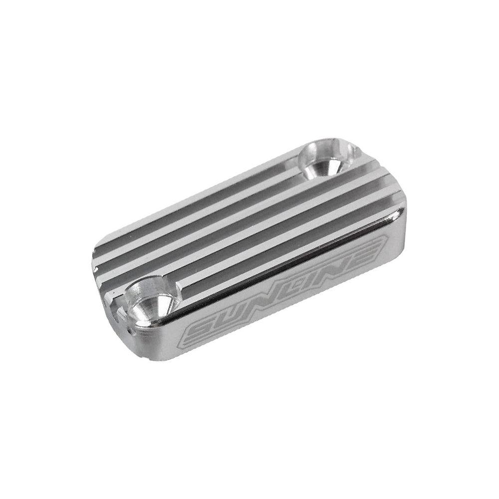Sunline MX Brake Reservoir Cap - Front - Silver - RM 97-03, Silver
