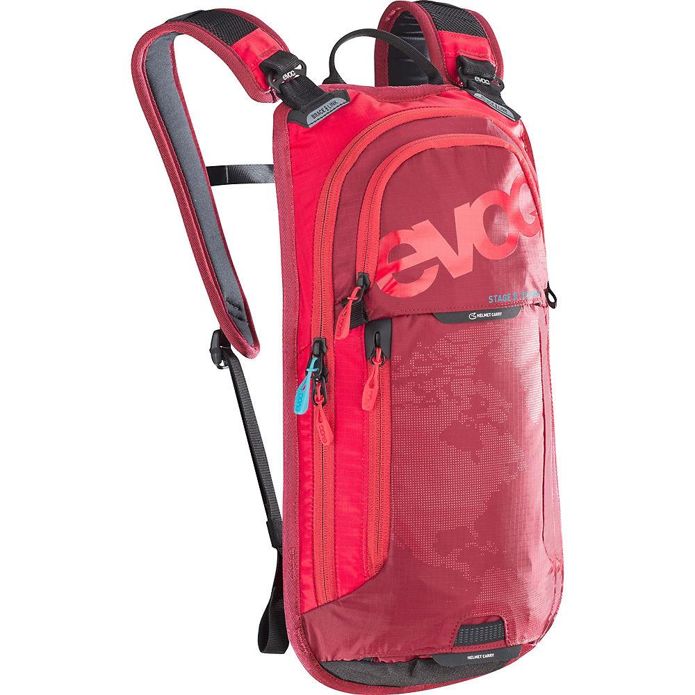 Image of Zaino Evoc Stage 3L - rosso - rosso rubino, rosso - rosso rubino