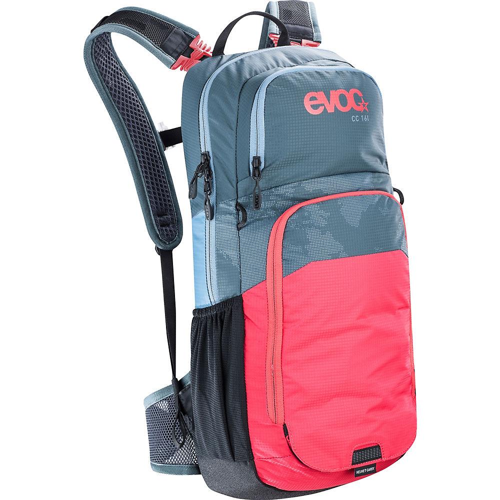 Image of Zaino Evoc CC 16L + Sacca Idrica da 2L - grigio - rosso, grigio - rosso