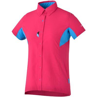 Button shirt for women Shimano SS16