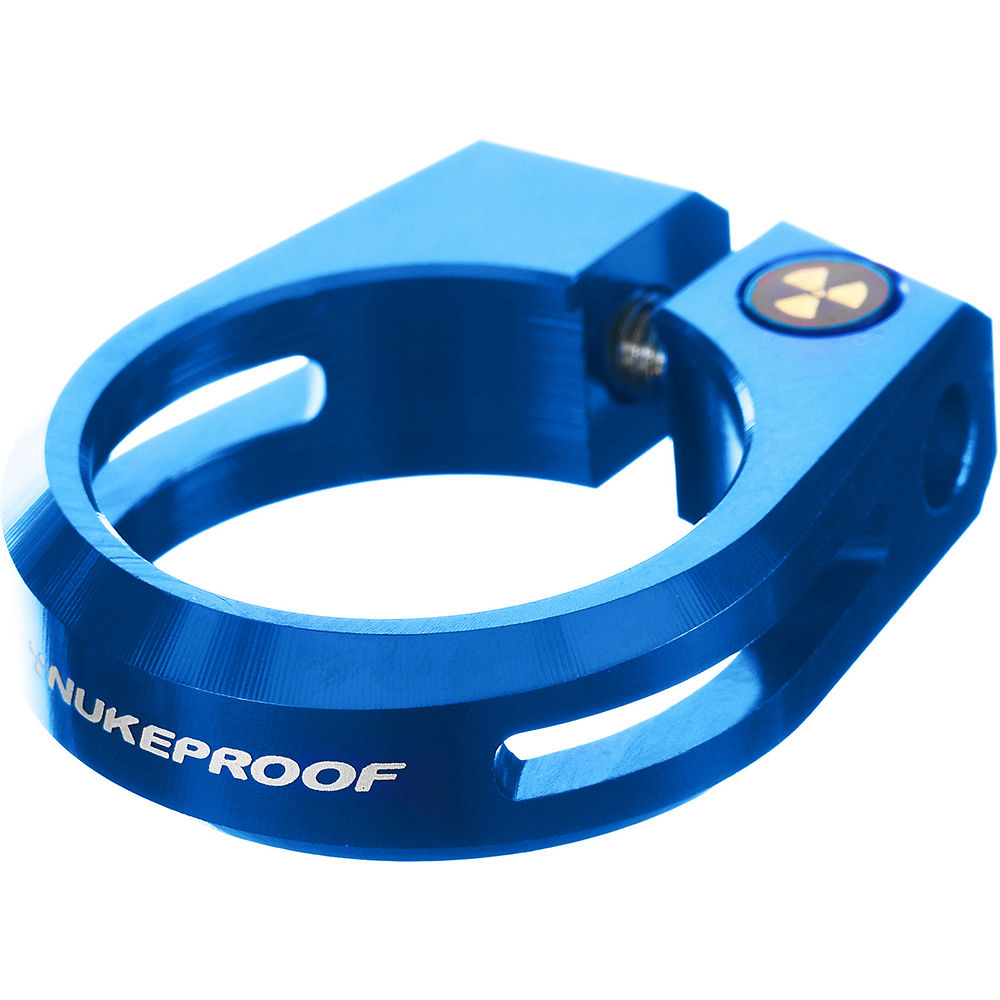 Nukeproof Horizon Seat Clamp - Blue - 28.6mm  Blue