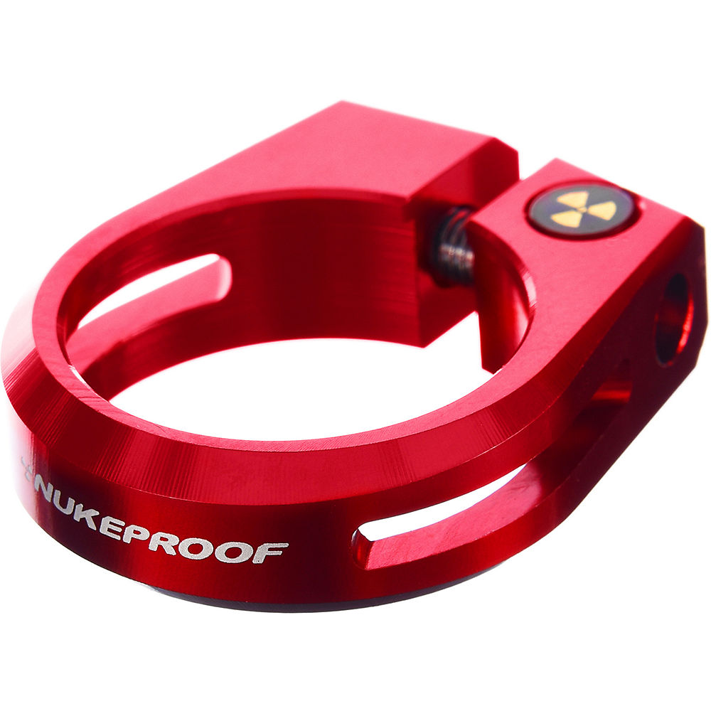 Nukeproof Horizon Seat Clamp - Red - 34.9mm  Red
