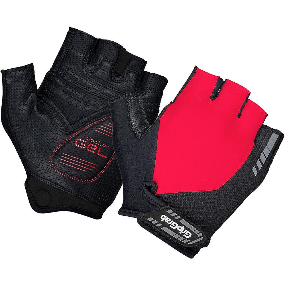 Guanti Ciclismo GripGrab Progel Corti - rosso - XL, rosso