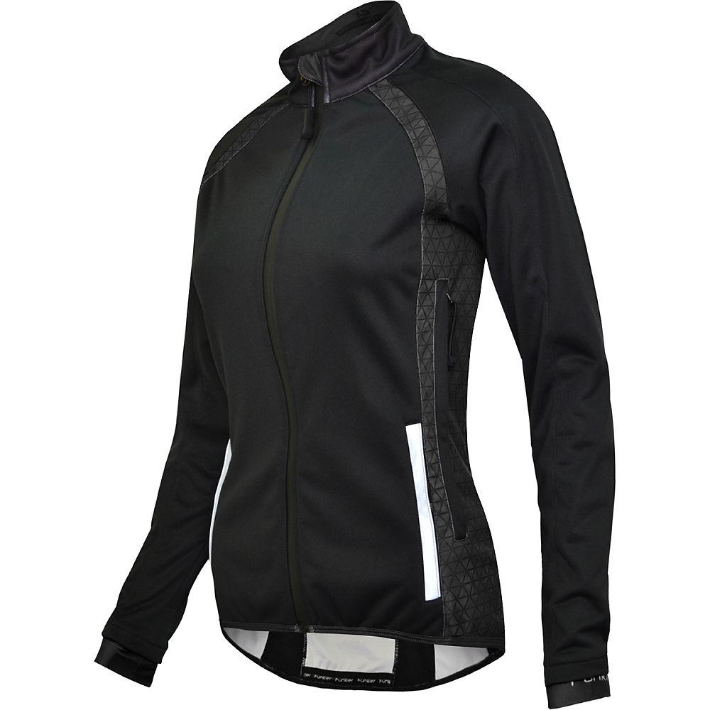 Funkier Women's Tornado Microfleece TPU Jacket - Black, Black