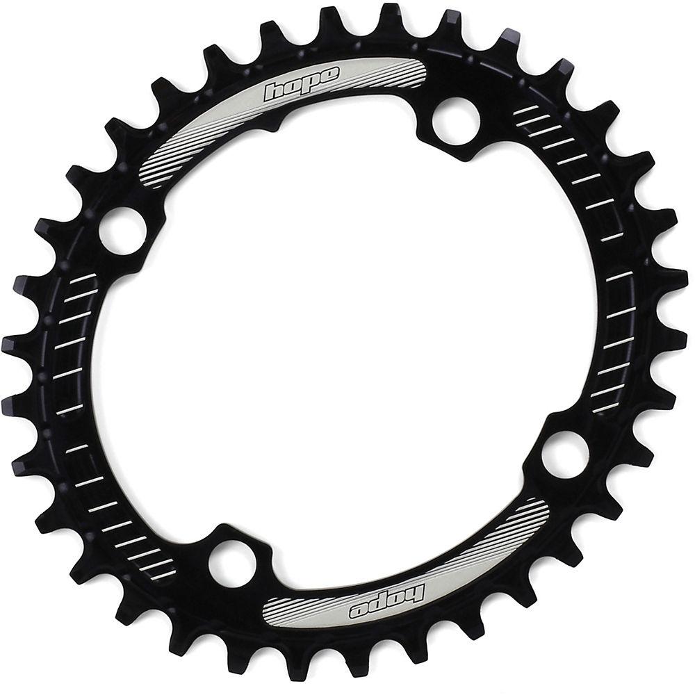Hope Oval Retainer Ring - Black - 4-bolt  Black