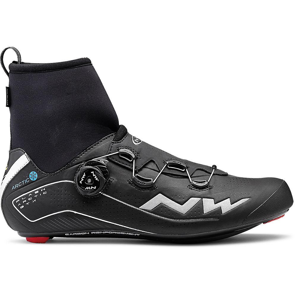 Northwave Flash Arctic GTX Winter Boots – Black – EU 48, Black