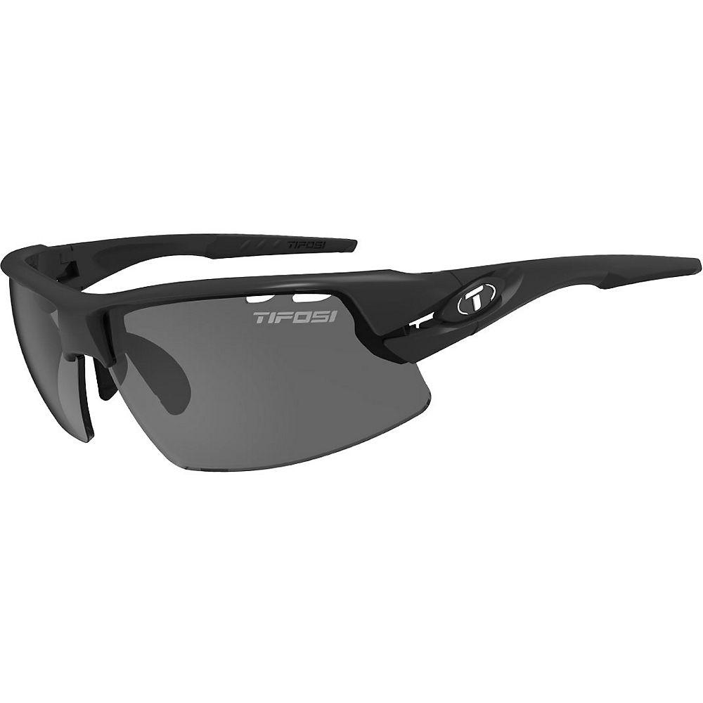 Image of Tifosi Crit Half Frame Sunglasses - Matt Black