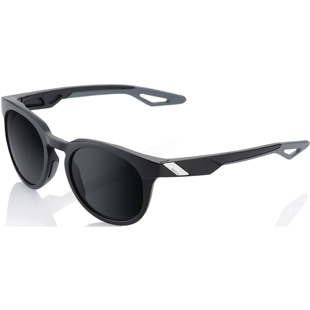 100% Campo Sunglasses - Soft Tact Black - Grey Peakpolar  Soft Tact Black - Grey Peakpolar