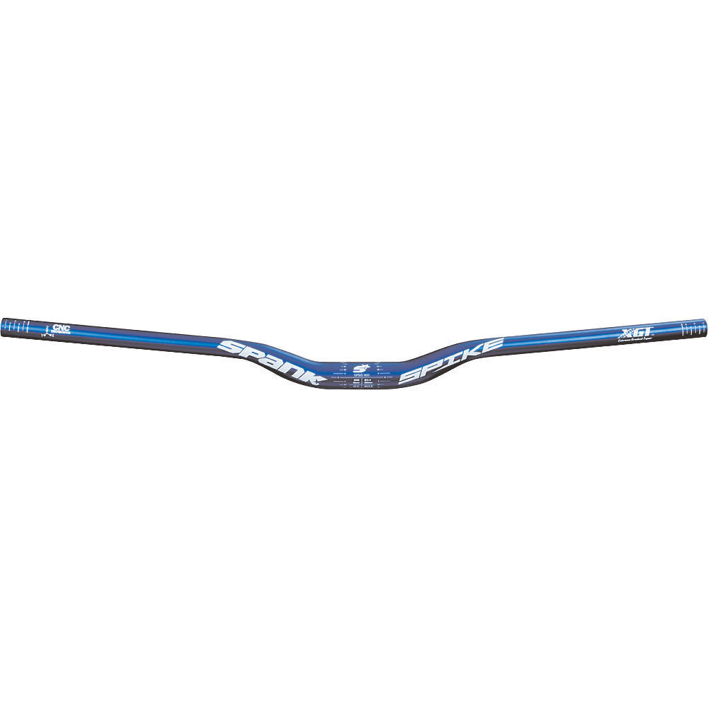 Image of Cintre VTT Spank Spike 800 Race - Bleu - 31.8mm