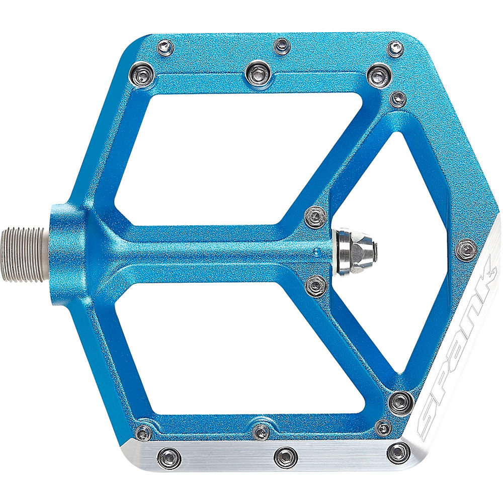 Spank Spike Pedals - Blue, Blue