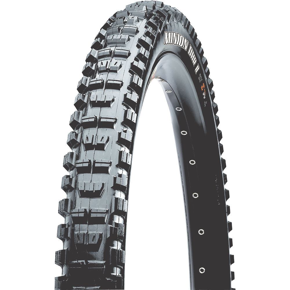Maxxis Minion Dhr Ii Wide Trail (exo-tr-3c) - Black - Folding Bead  Black