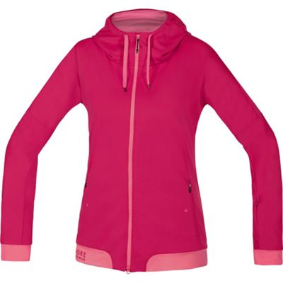 Sudadera con capucha de mujer Gore Bike Wear Power Trail WS SO - Rosa - Rosa, Rosa - Rosa
