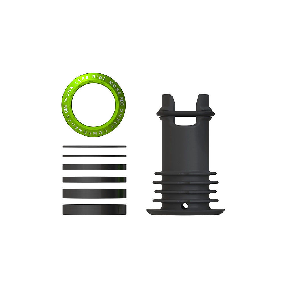 Image of Cone de direction OneUp Components EDC - Vert, Vert