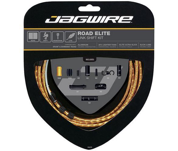 Jagwire Pro Shift Kit Road//Mountain SRAM//Shimano Stealth Black