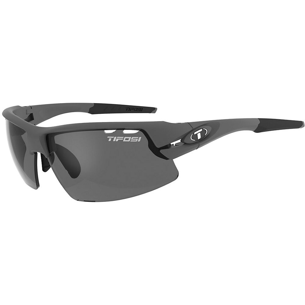 Tifosi Crit Fototec Sunglasses - Matte Gunmetal-fototec Polarised Smoke Lens  Matte Gunmetal-fototec Polarised Smoke Lens