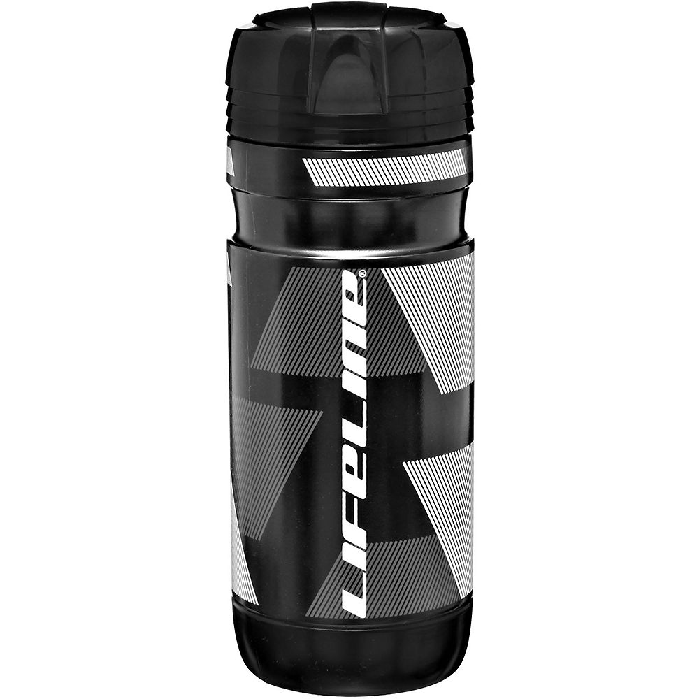 Bidón para almacenamiento de herramientas LifeLine - Negro - Blanco - One Size, Negro - Blanco