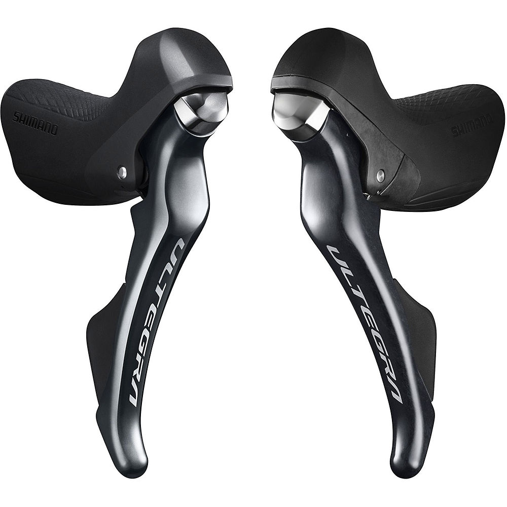Shimano Ultegra R8000 11 Speed Shifter Set - Grey - 11 Speed - Pair, Grey
