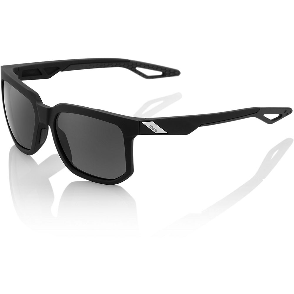 100% Centric Sunglasses - Soft Tact Black - Grey Peak Polar  Soft Tact Black - Grey Peak Polar