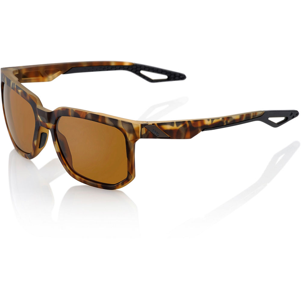 100% Centric Sunglasses - Soft Tact Havana - Bronze Peak Polar, Soft Tact Havana - Bronze Peak Polar