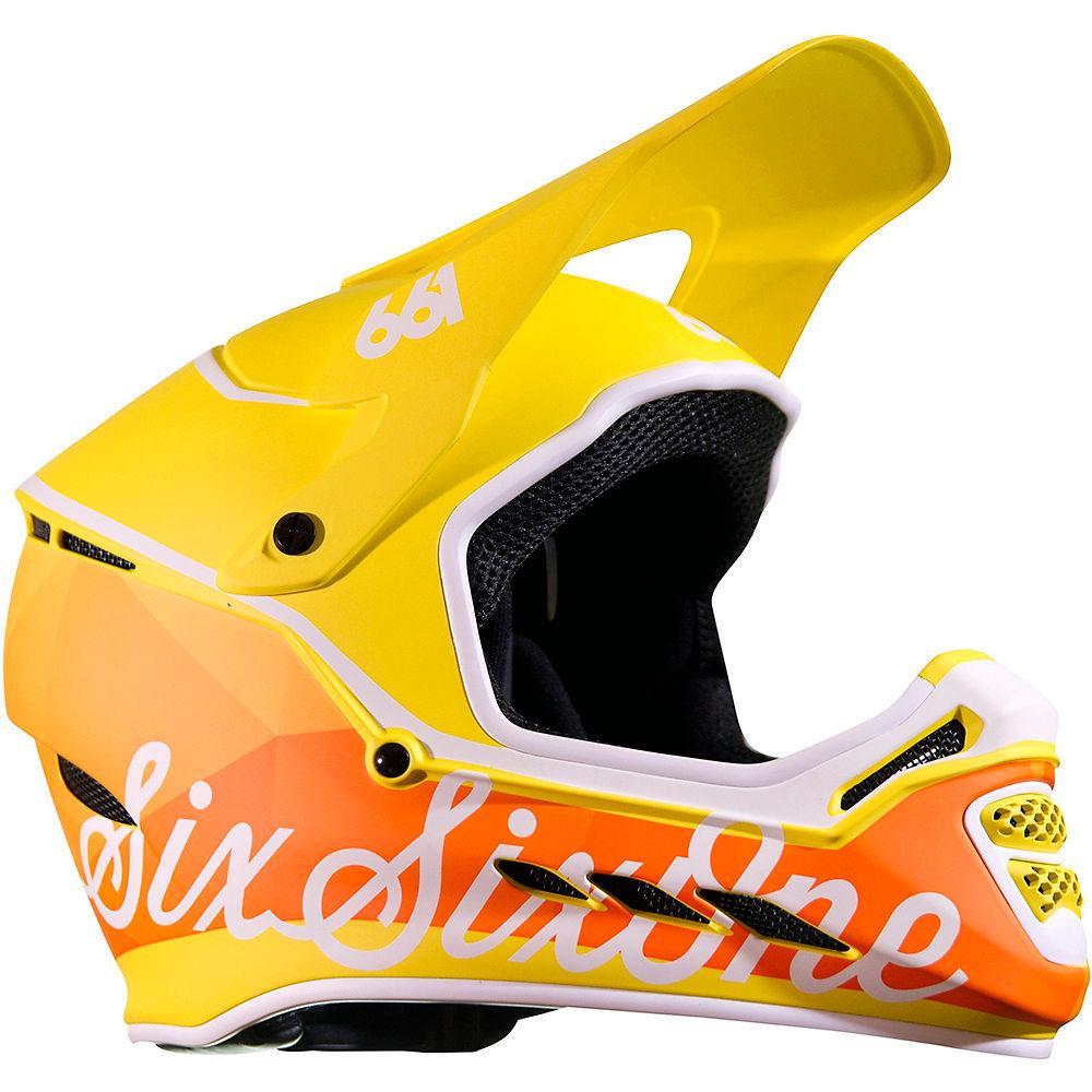 Image of Casque SixSixOne Reset - Geo Citrus - 2XS, Geo Citrus