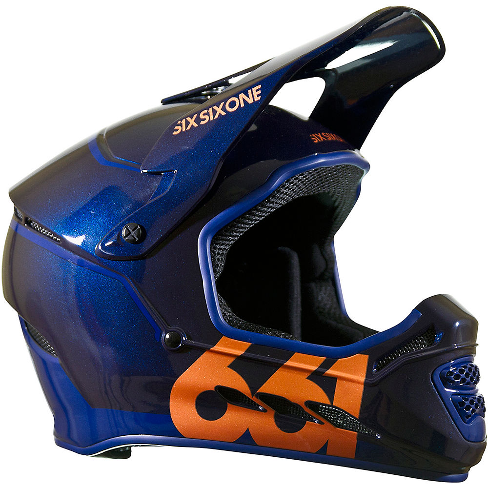 Image of Casque SixSixOne Reset - Midnight Copper - 2XS, Midnight Copper