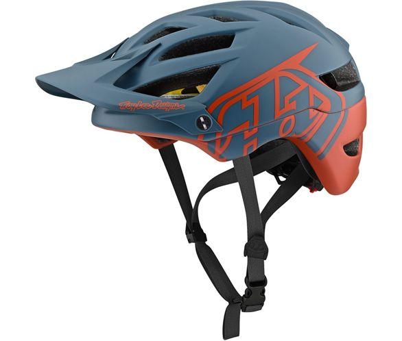 Troy Lee Designs Helmet >> Troy Lee Designs A1 Mips Helmet Classic Grey