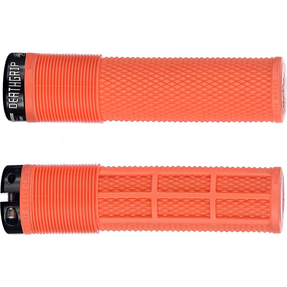 DMR Brendog Death Grip Flangeless MTB Grips - Tango - 135mm, Tango