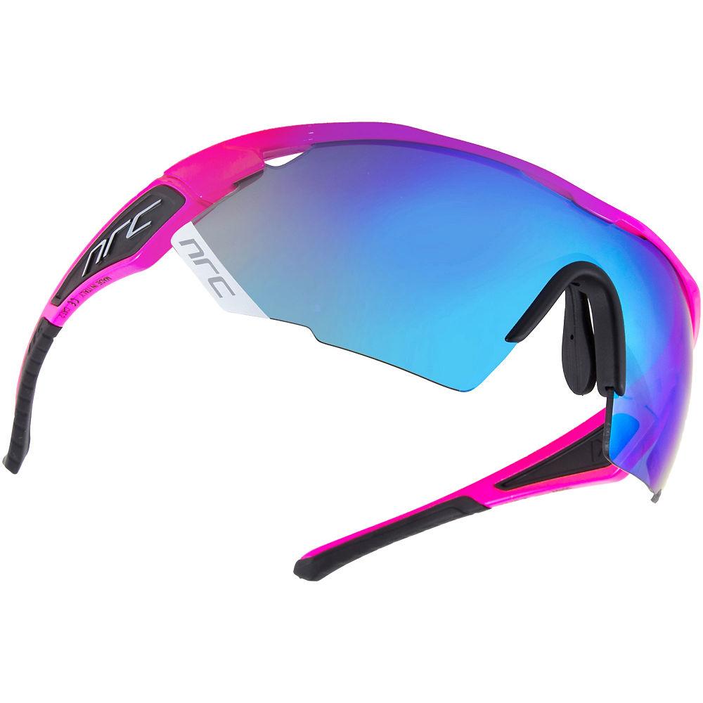Image of Lunettes de soleil NRC Eyewear NRC X Series X3 - Rose énergétique - Gris intense miroir bleu, Rose énergétique - Gris intense miroir bleu