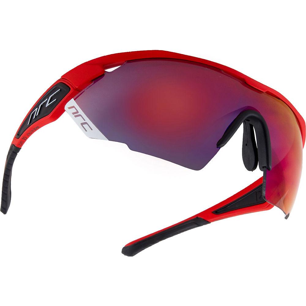 Image of Lunettes de soleil NRC Eyewear NRC X Series X3 - Rouge feu mat - gris - Miroir rouge inferno, Rouge feu mat - gris - Miroir rouge inferno