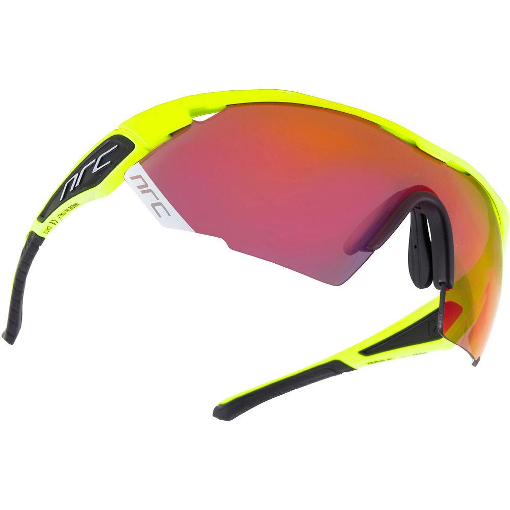 Image of Lunettes de soleil NRC Eyewear NRC X Series X3 - Jaune fluo brillant - InfraRouge Gris- miroir rouge, Jaune fluo brillant - InfraRouge Gris- miroir rouge