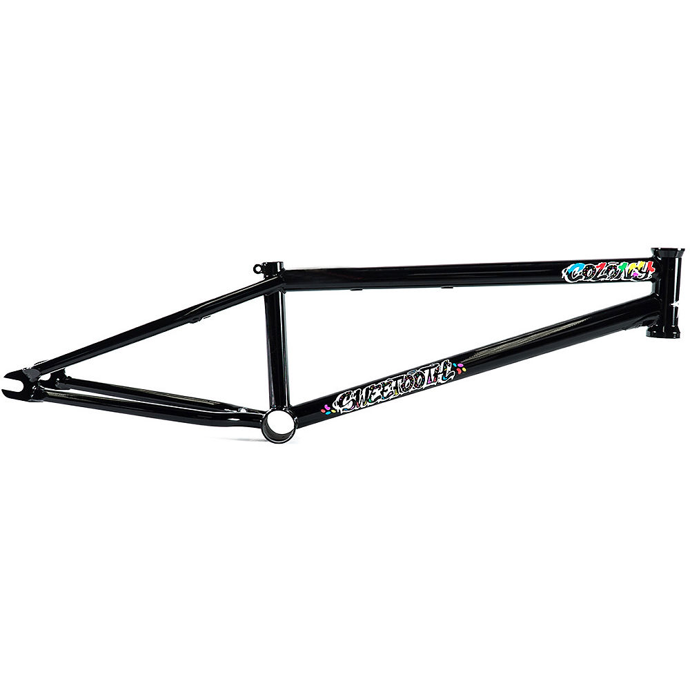 "Image of Cadre BMX Colony Sweet Tooth - Noir brillant - 20.4"", Noir brillant"