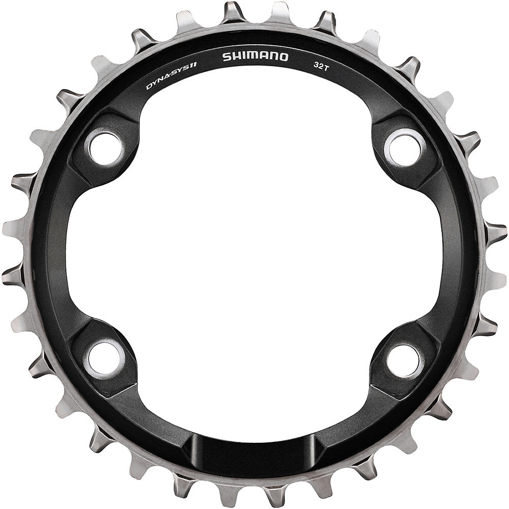 Shimano SM-CRM81 Single Chainring XT M8000 - Black - 4-Bolt, Black