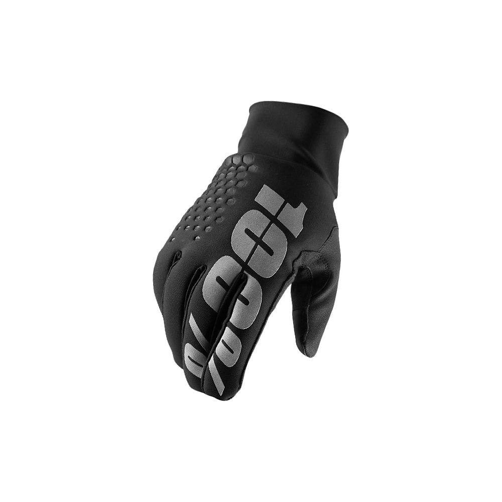 100% Hydromatic Waterproof Brisker Glove - Black - XL, Black