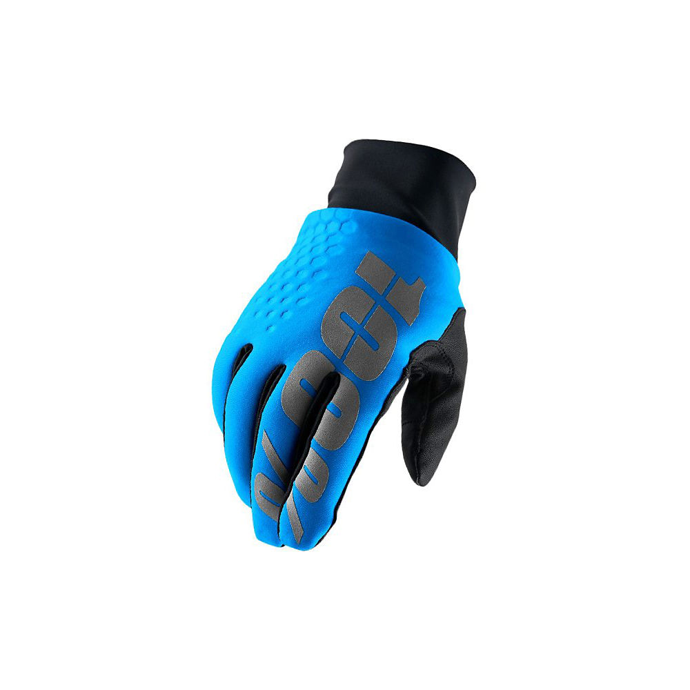 100% Hydromatic Waterproof Brisker Glove - Cyan, Cyan