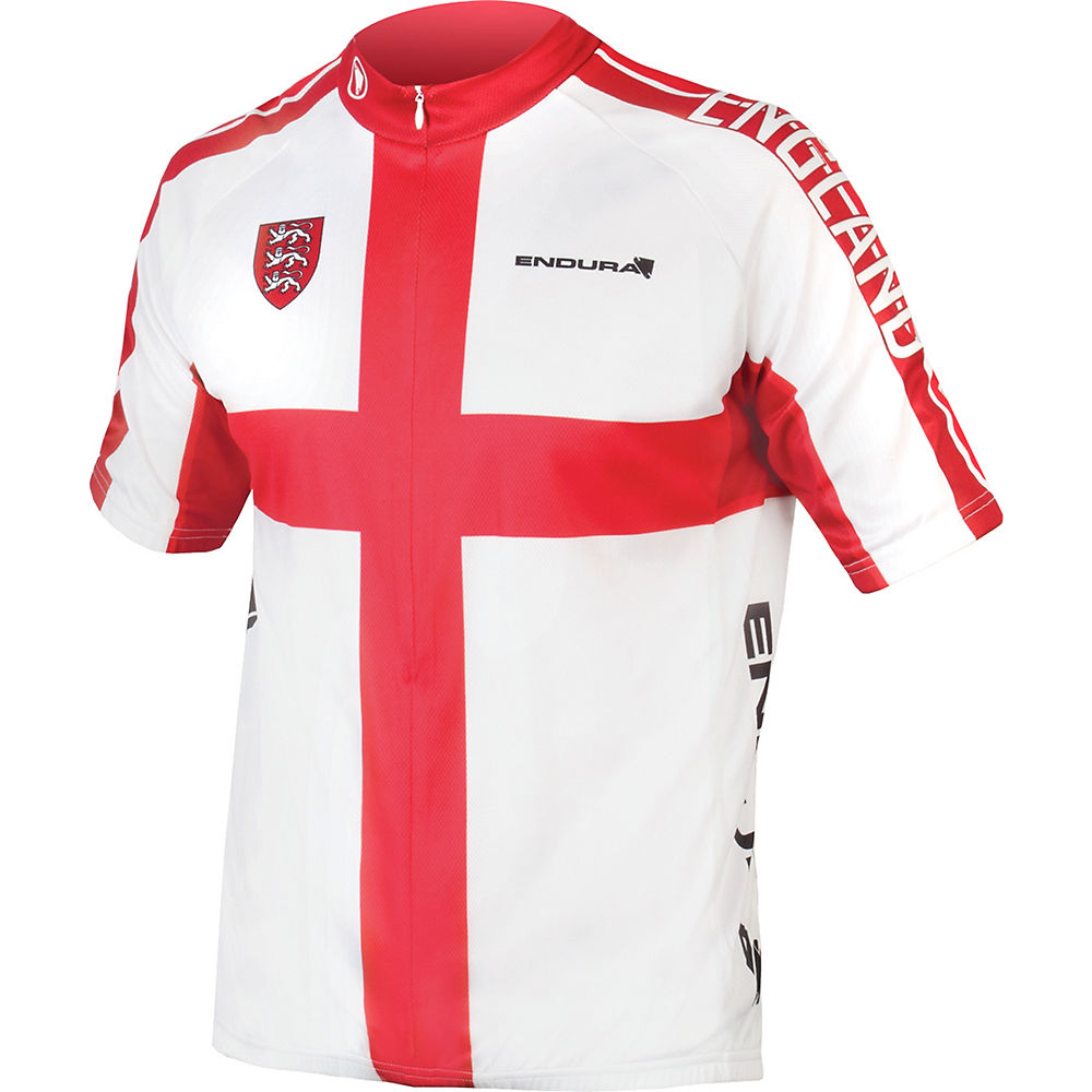 Maillot de manga corta con bandera de Inglaterra Endura